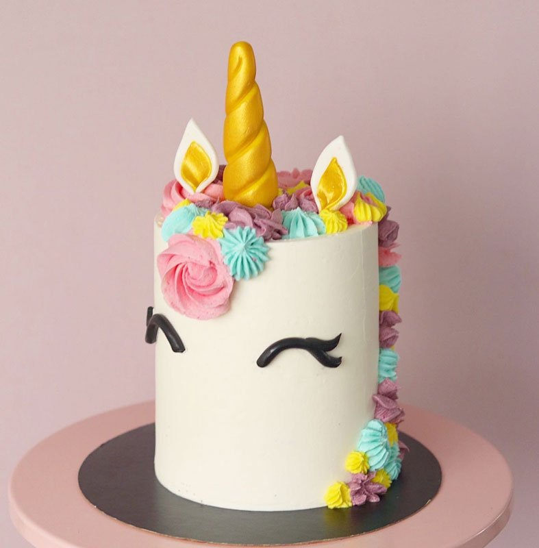 Ombre Buttercream Beach Cake – SOLD OUT