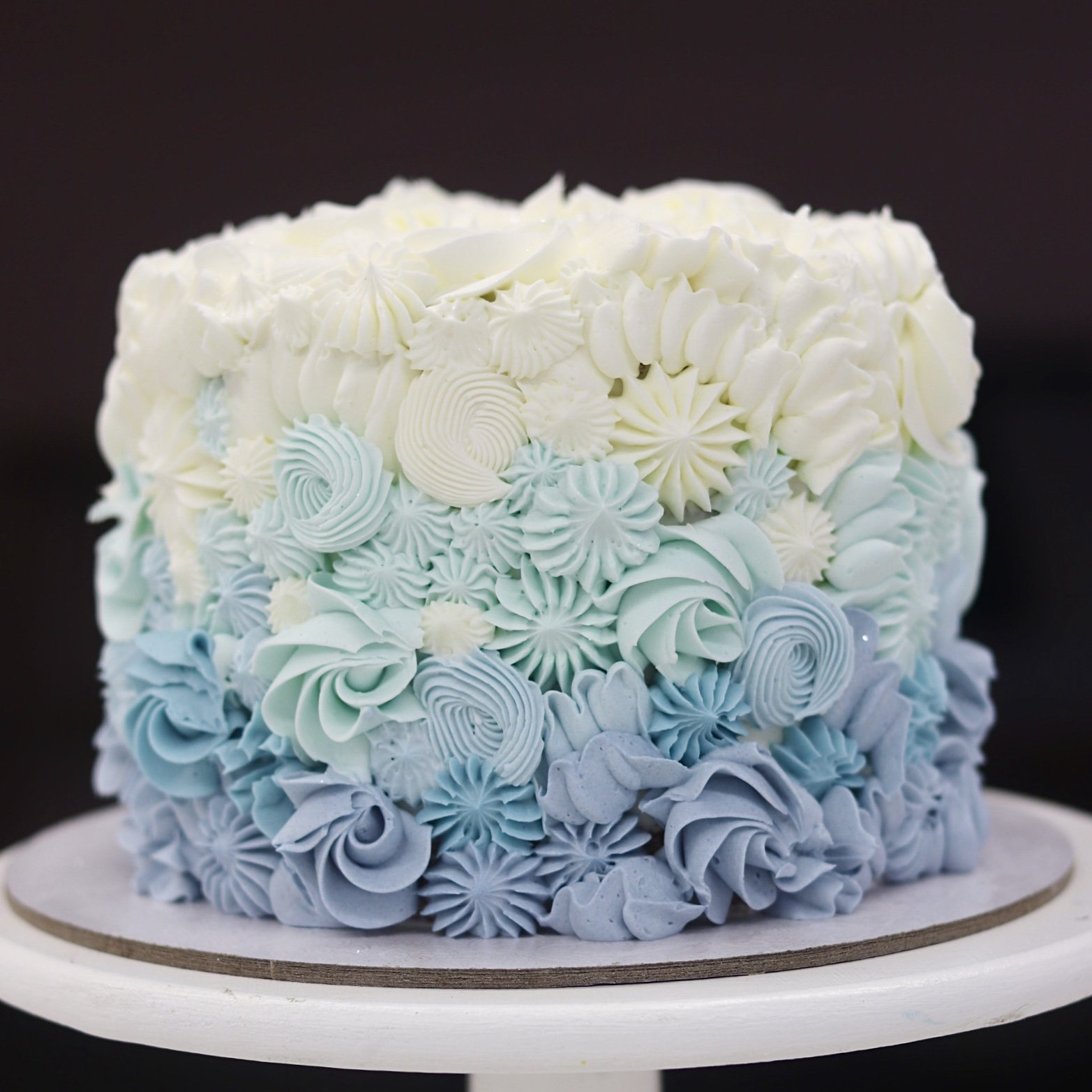 Two Tier Drip Cake